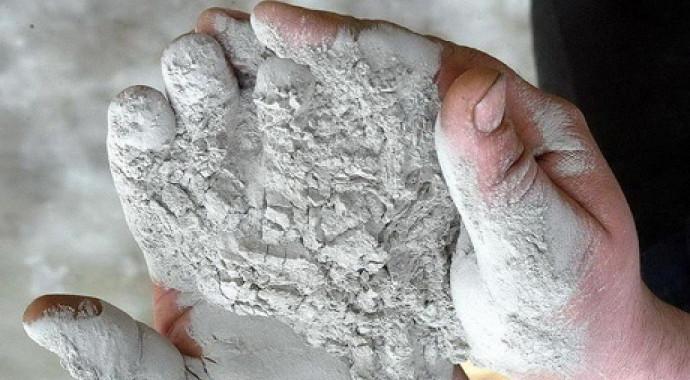 Изготовление ступеней из керамогранита: начальная стадия