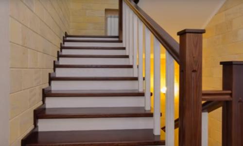 Ступени из керамогранита для облицовки бетонной лестницы